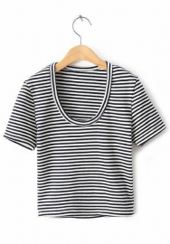 Women Fashion Classic Short Sleeve Tops