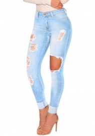 Women Fashion Jeans Long Pants