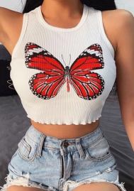 2020 Styles Women Fashion Colorful Summer Vest Tops