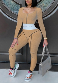 2020 Styles Women Fashion INS Styles Fashion Tracksuit Jumpsuit