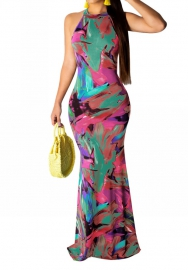 2020 Styles Women Fashion INS Styles Maxi Dress