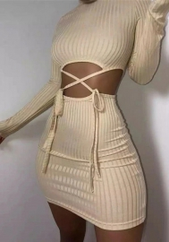 2020 Styles Women Fashion INS Styles Long Sleeve Mini Dress